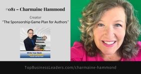 Charmaine Hammond Shows Authors to Attract Sponsors on