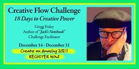 Creative Flow Challenge, 18 Days to Creative Power