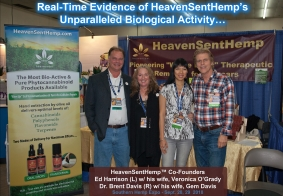 HeavenSentHemp Surprises Attendees at Southern Hemp Expo