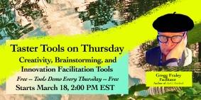 Taster Tools on Thursday