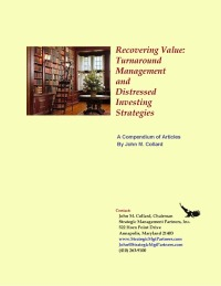 Recovering Value: Turnaround Management Strategies