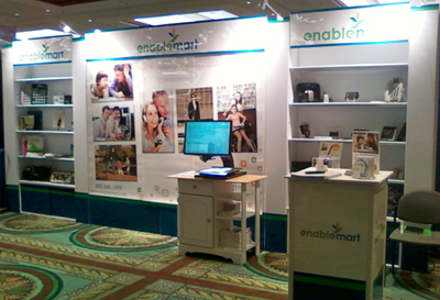 EnableMart AT Specialists will demonstrate more than 30 Assistive Technology devices at CSUN this week.