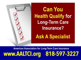 Long term care insurance costs and health qualification