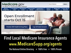 Medicare.gov find local Medicare insurance agents