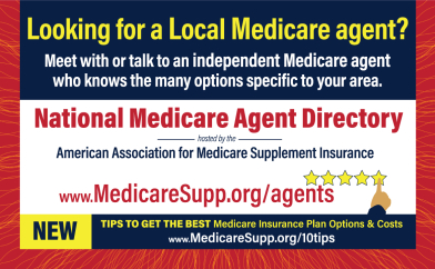 Find local Medicare insurance agents advertisement