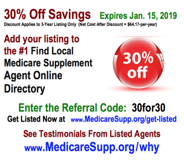 Medicare insurance leads offer from www.MedicareSupp.org