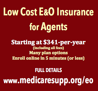 Low Cost E&O Insurance for Health insurance agents