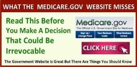 Medicare.gov website mistakes to avoid