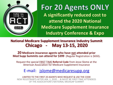 Medicare Supplement Insurance Summit Scholarships
