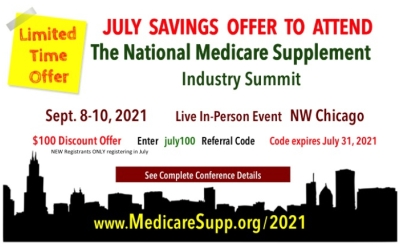 Medicare insurance conference discount announced