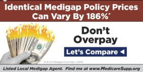 Medicare supplement insurance policy costs vary significantly reports AAMSI