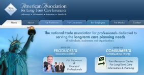 Long-term care insurance information website www.aaltci.org