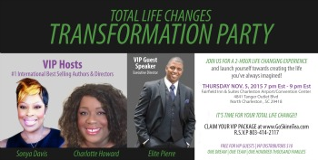 Charlotte Howard Total Life Changes Transformation Party