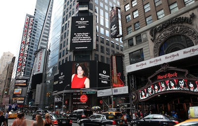 Kathy Gruver Times Square
