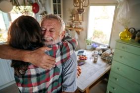 Father Daughter Caregiving