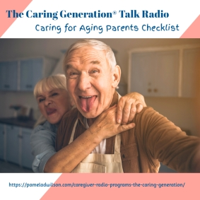 Caring for Aging Parents A Checklist