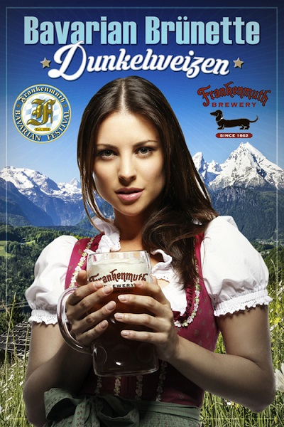 The Frankenmuth Brewery will unveil a German-inspired Michigan craft beer – the Bavarian Brunette Dunkelweizen