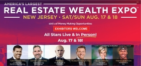 2019 Real Estate Wealth Expo in NY/NJ Metropolitan Area and San Francisco Bay Area