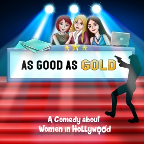"Logo for Stage Play ""As Good As Gold"""
