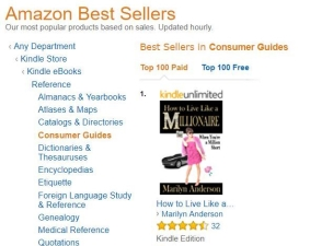 #1 Amazon Bestselling Consumer Guide: How to Live Like a MILLIONAIRE When You