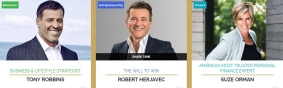 Tony Robbins, Robert Herjavec and Suze Orman Bring Crowds to Your Business at 2019 Real Estate Wealth Expo