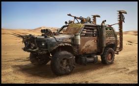 Predatory Preppers in Mad Max America