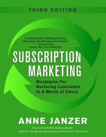 Subscription Marketing book cover