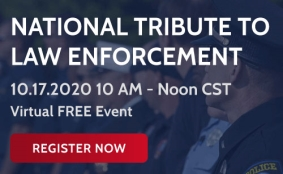 National Tribute to Law Enforcement free virtual event on Oct 17 2020
