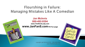 Fixing mistakes fast is a skill