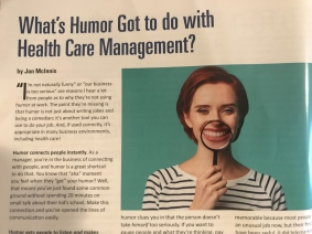humor in healthcare is important