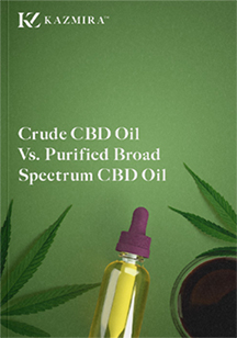 Crude CBD Oil Vs. Purified Broad Spectrum CBD Oil