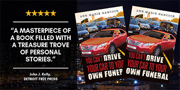 'You Can't Drive Your Car to Your  Own Funeral' now an Amazon #1 Bestselling Book