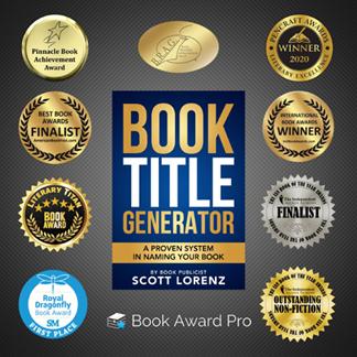 Book Publicist Scott Lorenz's 'Book Title Generator' Racks Up 9th Award