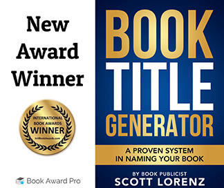 'Book Title Generator' Wins 2020 International Book Award in Business Public Relations Category