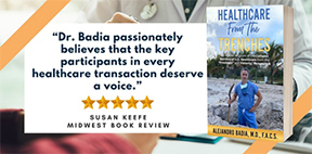 Healthcare From The Trenches now an Amazon #1 Bestselling Book