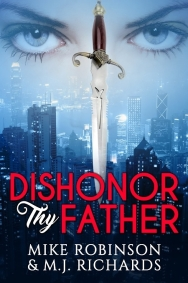 New Mystery-Thriller, Dishonor Thy Father, to be at Virtual Frankfurt Book Fair