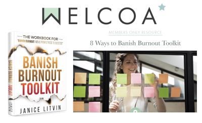 Welcoa Accepts Banish Burnout Toolkit into Member Library