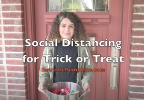 How To Social Distance While Trick or Treating