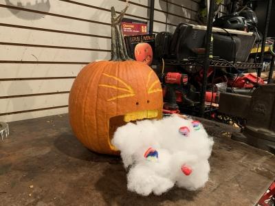 The Covid Cloud Pumpkin