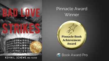 'Bad Love Strikes,' 1st in Sci-Fi Series, Wins Award in Fiction Category