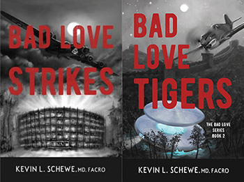 'Bad Love Strikes,' and 'Bad Love Tigers' Released as Audio Books