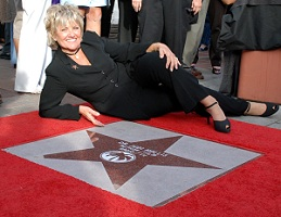 Author Judi Hollis and Her Star