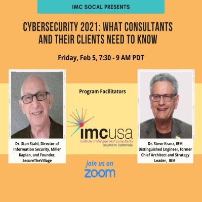 Feb. 5 2021 Online Cybersecurity Program for Consultants