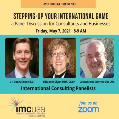 Webinar on International Consulting Business