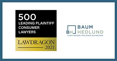 Lawdragon Recognizes Attorneys Michael Lin Baum and R. Brent Wisner
