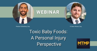 Baum Hedlund Baby Food Attorneys Featured Speakers at MTMP Webinar