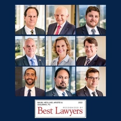 Baum Hedlund Lawyers in The Best Lawyers in America® and Ones To Watch