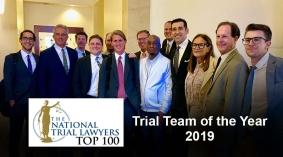 Monsanto Lawsuit Plaintiff Trial Team Earns Trial Team of the Year Award