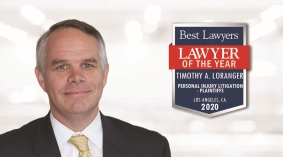 "Tim Loranger Earns 2020 Best Lawyers® ""Lawyer of the Year"" Distinction"