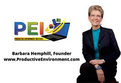 Create 'Productivity on Demand' for When Normalcy Returns: Barbara Hemphill's POD Program Provides Training for Maximization